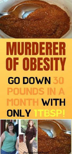 This is Murderer of Obesity! With only a Tablespoon Per Day, You Will Go Down 30 Pounds and Lose Weight in One Month – The Best Food House Health Advice, Health And Wellness, Health Fitness, Health Care, Healthy Meals To Cook, Good Healthy Recipes, Healthy Drinks, Healthy Cooking, Healthy Food