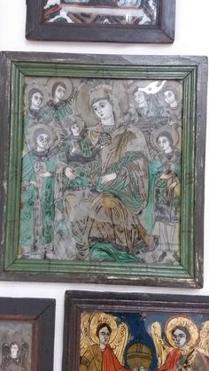 Mother And Child, Folk Art, Icons, Christ, Mother Son, Popular Art, Mother And Baby, Symbols, Ikon