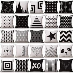 Christmas geometry Cushion covers Cotton linen sequin pillow cover for Sofa bed Nordic decorative pillow case almofadas White Decorative Pillows, Decorative Pillow Cases, Throw Pillow Cases, Cover Pillow, Sofa Throw, Couch Cushions, Diy Pillows, Linen Pillows, Sofa Bed