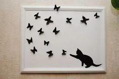панно из бабочек на стену своими руками: 17 тыс изображений найдено в Яндекс.Картинках
