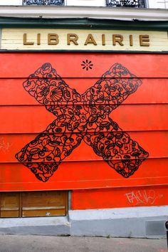 Lmdldzr - street art - Paris 20 - rue de tourtille