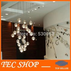 66.74$  Watch here - http://ali1bm.worldwells.pw/go.php?t=32275971156 - Meteor Crystal Chandelier LED Light Fixtures Guaranteed 100% Magic Crystal Ball lustres de cristal lustres e pendents