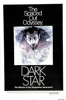 Dark Star - Movie Poster - 11 x 17 Add this spectacular poster to your collection today! This poster measures approx. 11 x Brand new and expertly rolled and shipped. This poster is from Dark Star Original Movie Posters, Film Posters, Retro Posters, Dan O Bannon, Sci Fi Thriller, University Of Southern California, Dark Star, Sci Fi Movies, Horror Movies