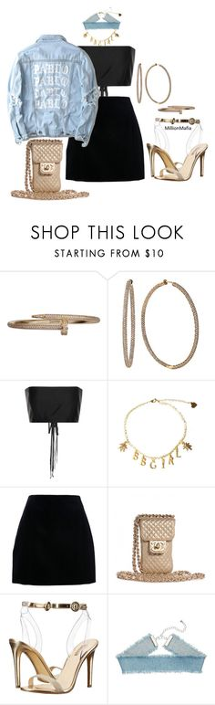 """."" by millionmafia ❤ liked on Polyvore featuring Effy Jewelry, The Row, Yeezy by Kanye West, Chanel and GUESS"