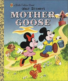 Walt Disney's Mother Goose #D36 (1952) 28 pages