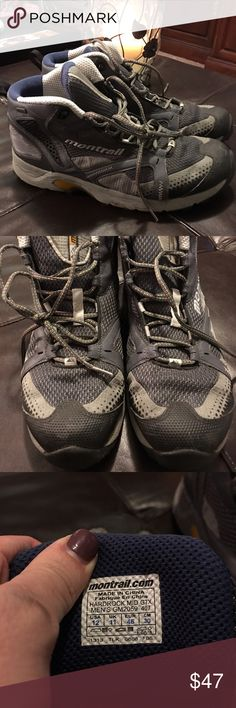 Montrail men's size 12 hiking boots Worn approx 4-5 times, men's size 12 Montrail boots. Water resistant. Montrail  Shoes Athletic Shoes