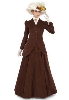Old fashion dresses - 130822345 Quinn Corduroy Riding Suit – Old fashion dresses Edwardian Dress, Edwardian Fashion, Vintage Fashion, Vintage Beauty, Edwardian Style, 1900s Fashion, Victorian Dresses, 1920s Style, 1920s Dress
