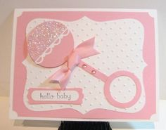 baby card Stampin Up