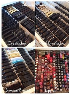 Makeup Organization...see my system!