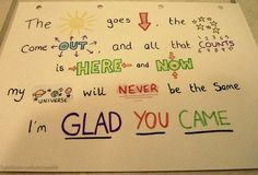 """the wanted-- """"glad you came"""""""