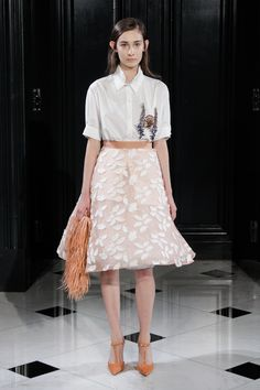 Huishan Zhang Spring/Summer 2015 Ready-To-Wear