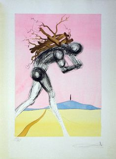 Salvador Dali, Issachar, Etching : Lot 690
