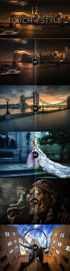 12. Touch of Stlye Lightroom Presets. Actions. $12.00