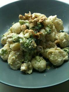 Romige gnocchi met hazelnoten en bloemkool