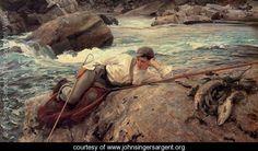 One His Holidays - John Singer Sargent - www.johnsingersargent.org