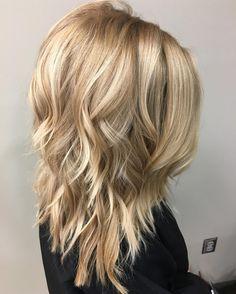 Znalezione obrazy dla zapytania medium layered haircuts