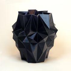 Geometric decor Stealth Grenade Plant Pots mens gift by MeshCloud