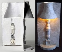 The Packaging Lamp by David Gardener