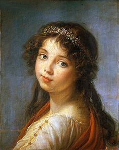 Portrait of the Artist's Daughter | Elisabeth-Louise Vigee Le Brun | Hand-Painted Art Reproduction