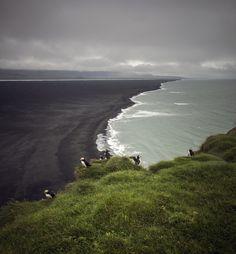 Ingólfshöfði, Iceland.