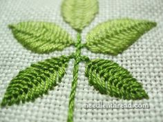 Cretan Stitch – Close it Up! – Needle'nThread.com  @Lady Lady Lady Lady Lady Caitriona - what makes this Cretan?  Seriously want to know.