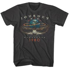 Journey Departure T-Shirt can find Band shirts and more on our website.Journey Departure T-Shirt Neo Grunge, Grunge Style, Soft Grunge, T-shirt Rock Vintage, Vintage Band Tees, Vintage Shirts, Vintage Graphic Tees, Vintage Concert T Shirts, Graphic T Shirts