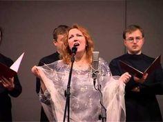 Евгения Смольянинова-Девушка пела в церковном хоре(стихи-А.Блок,музыка-Е.Смольянинова).
