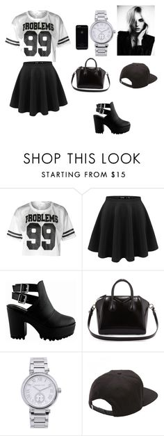 """Lis"" by lisetteteresita ❤ liked on Polyvore featuring beauty, Givenchy, MICHAEL Michael Kors and Vans"