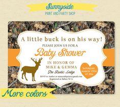 Jennifers invites  https://www.etsy.com/listing/174298658/little-deer-hunter-camo-camouflage-baby