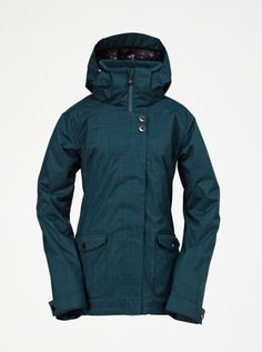Raven 8K Insulated Snow Jacket   * 8000 mm waterproofing  * 100gms body/80gms sleeves/40gms hood  * 3-way adjustable removable hood  * Fixed Powder Skirt  * Jacket-Pant Interface *NO Sleeve Pass Pocket
