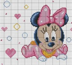 Discover thousands of images about Community wall photos – photos Mini Cross Stitch, Cross Stitch Charts, Hama Beads Disney, Disney Stich, Flower Chart, Disney Cross Stitch Patterns, Stitch Cartoon, Baby Embroidery, Tapestry Crochet