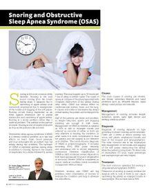 Snoring and Obstructive Sleep Apnea Syndrome by Boushahri Polyclinic