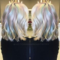 Opal hair.: