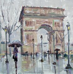Rainy Paris Gina Brown