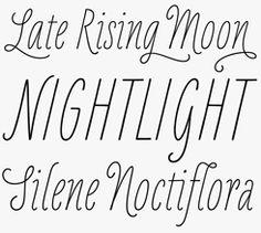 LiebeKlara font sample