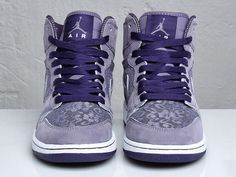 Lavender & Lace Air Jordan's