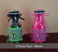 Starbucks Bottle Re-visited! Candy, buble gum balls or anything! Starbucks Bottle Crafts, Starbucks Bottles, Glass Jars, Mason Jars, Buble Gum, Baby Food Jars, Coffee Bottle, Gift Baskets, Cute Gifts