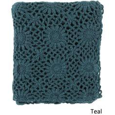 "Mossley Knit Acrylic Throw (50"" x 60"")"