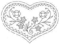 Resultado de imagen para heart embroidery pattern
