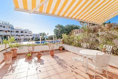 Apartment with large terrace and Sea view in Puerto Portals #mallorca #apartment #realestate #PuertoPortals #property