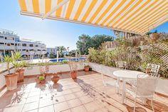 Lägenhet med stor terrass och havsvy i Puerto Portals #mallorca #lägenhet #PuertoPortals #bostad #mäklare
