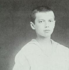 Future Tsar Nicholas II