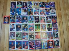 Baseball RC Lot 49 Vintage Rookie Cards All 20+ Years Old Topps Donruss Fleer