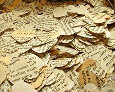 Confettis en papier