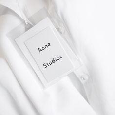 New Design Packaging Fashion Acne Studios Ideas Print Packaging, Packaging Design, Branding Design, Branding Ideas, Fashion Logo Design, Fashion Branding, Denim Branding, Fashion Designers, Acne Studios