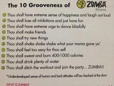 Why we do Zumba