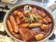 Korean Spicy Rice Cake (Tteokbokki) – Cooking with Sheila Spicy Rice, Tteokbokki, Main Menu, Rice Cakes, Frozen, Korean, Cooking, Kitchen, Korean Language