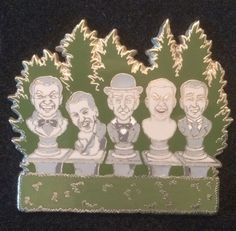 Disney WDW - The Haunted Mansion - Singing Busts Pin