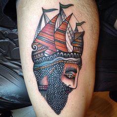 Marco Tafuri All Tattoos, Body Art Tattoos, Tatoos, Deer Tattoo, Traditional Tattoos, American Traditional, Beautiful Body, Future Tattoos, Body Mods