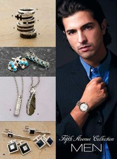 Click here to view some of our Fabulous 'Men's Collection' which will go with any outfit! Order directly via www.fifthavenuecollection.com/yokafor. So what are you waiting FOR: Repin & Keep Being Stylish! Fifth Avenue Collection, Men's Collection, Men's Style, Waiting, Jewels, Mens Fashion, Stylish, Business, Bracelets